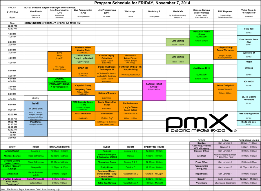 PMX_Program_Friday