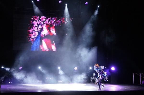 cosplay performance