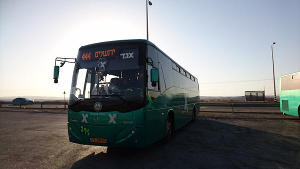 イスラエルバス