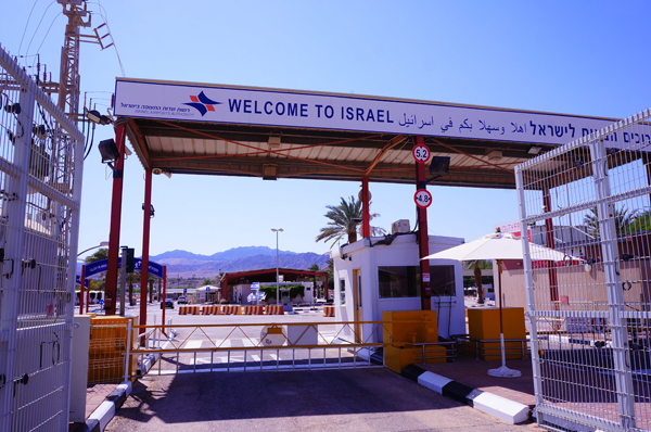 イスラエル国境