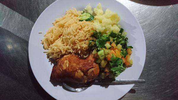ワディラム遊牧民料理